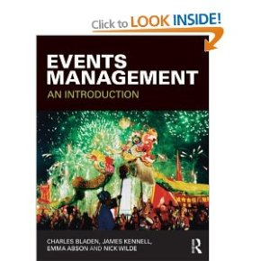 COver of Events Management book